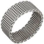 Damen Ring Milanaise 925 Sterling Silber Silberring Milanaisering