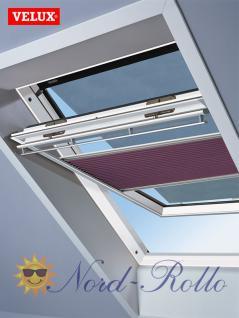 Original Velux Hitzeschutz-Set-Duoline Faltstore Markise FOP C04 1051S pink/schwarz für GGL/GPL/GHL/GTL/GXL C04