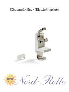 Blindfix Klemmträger Klemmhalter für Jalousien / Jalousetten 25x25mm