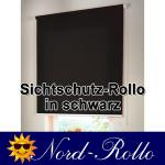Sichtschutzrollo Mittelzug- oder Seitenzug-Rollo 130 x 160 cm / 130x160 cm grau