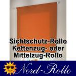 Sichtschutzrollo Mittelzug- oder Seitenzug-Rollo 132 x 200 cm / 132x200 cm 12 Farben