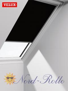 Original Velux Verdunkelungsrollo Rollo solar für GIL/GDL/GEL 650 - DSL 650 3009 - schwarz - Vorschau 1