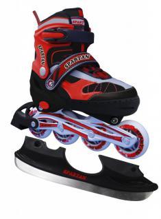 Eislauf-Inliner SKATER 2 in 1 ABEC 7