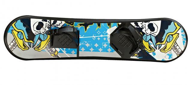 Snowboard Kinder, bunt, 93x22x10 cm INKL. BINDUNG