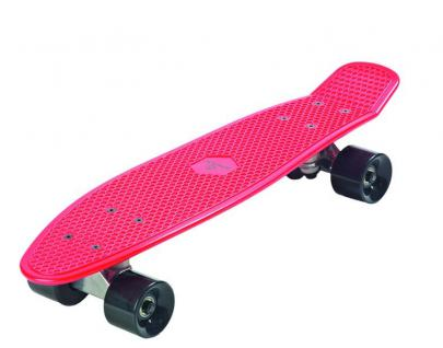 "Skateboard ""Plastik Old School BOARD"" Spartan, ABEC7-Lager, 62x15 cm"