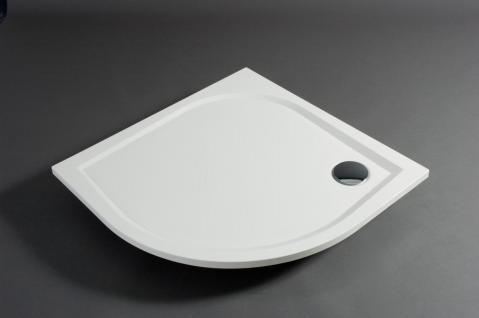 duschwanne 90x90cm andria mineralguss flach bodengleich viertelkreis duschtasse kaufen bei. Black Bedroom Furniture Sets. Home Design Ideas