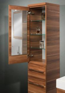 Design Hochschrank Bad Badmöbel Maße: H/B/T 155/35/33 cm, komplett vormontiert - Vorschau 4