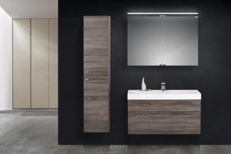 Design Hochschrank Bad Badmöbel Maße: H/B/T 160/35/33 cm, komplett vormontiert - Vorschau 4