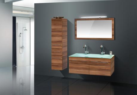 badm bel set komplett badezimmer design badset glas doppelwaschtisch 120 cm kaufen bei. Black Bedroom Furniture Sets. Home Design Ideas