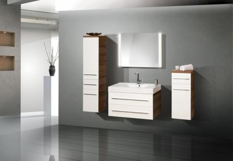 schrank nussbaum weiss hochglanz g nstig bei yatego. Black Bedroom Furniture Sets. Home Design Ideas