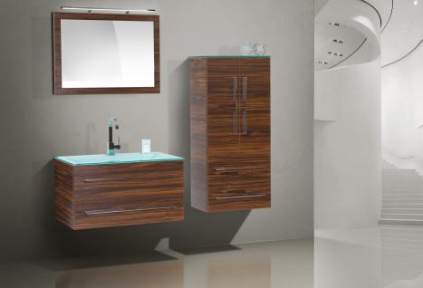 badm bel set badset design badezimmerm bel inkl 90 cm glaswaschtisch neu kaufen bei novelli. Black Bedroom Furniture Sets. Home Design Ideas