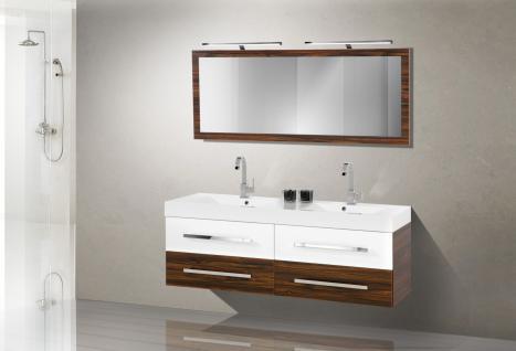 badm bel set design badezimmerm bel badezimmer waschbecken doppelwaschtisch 160 kaufen bei. Black Bedroom Furniture Sets. Home Design Ideas