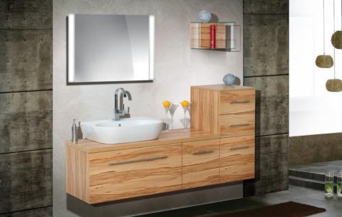 badm bel set design badezimmer badset mit lichtspiegel keramag 4u waschtisch kaufen bei. Black Bedroom Furniture Sets. Home Design Ideas