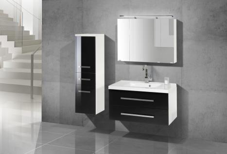 badezimmer spiegelschrank 90 cm g nstig bei yatego. Black Bedroom Furniture Sets. Home Design Ideas
