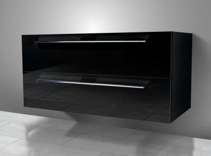 Unterschrank zu Duravit Vero 125 cm mit Kosmetikeinsatz Waschbeckenunterschrank - Vorschau 3
