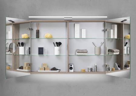 Spiegelschrank 100 cm LED Beleuchtung doppelseitig verspiegelt - Vorschau 2