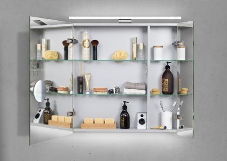 Spiegelschrank Bad 70 cm LED Beleuchtung doppelseitig verspiegelt - Vorschau 2