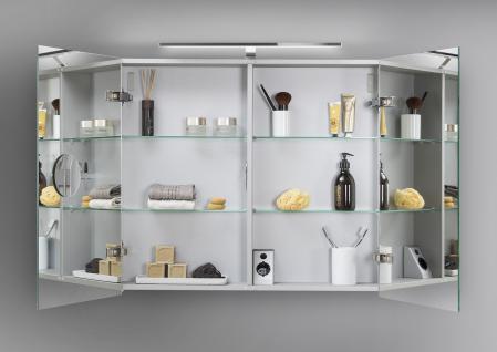 Spiegelschrank Bad 80 cm LED Beleuchtung doppelseitig verspiegelt - Vorschau 2