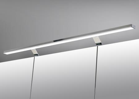 Spiegelschrank Bad 90 cm LED Beleuchtung doppelseitig verspiegelt - Vorschau 3