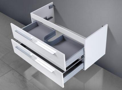 Unterschrank zu Keramag citterio Waschbeckenunterschrank 90 cm Ablagefläche rechts/links - Vorschau 2