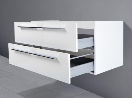 Unterschrank zu Keramag iCon Waschtisch 90 cm Ablagefläche rechts/links - Vorschau 3