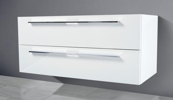 Unterschrank zu Keramag iCon 120 cm Doppelwaschtisch (für 2 Abläufe) Neu - Vorschau 2
