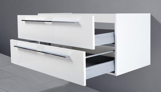 Unterschrank zu Keramag iCon 120 cm Doppelwaschtisch (für 2 Abläufe) Neu - Vorschau 3