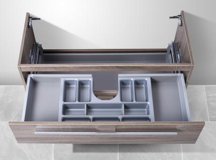 Unterschrank zu Keramag it 130 cm, mit Kosmetikeinsatz Waschbeckenunterschrank - Vorschau 2