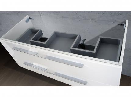 Waschtisch Unterschrank als Zubehör für MyStyle 130 cm Doppelwaschtisch - Vorschau 4