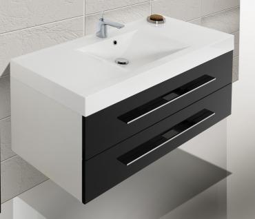 badm bel set badezimmerm bel design badset waschbecken spiegelschrank 120 cm kaufen bei. Black Bedroom Furniture Sets. Home Design Ideas