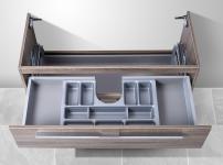 Unterschrank zu Keramag Renova Nr.1 Plan 100 cm, mit Kosmetikeinsatz