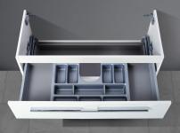 Unterschrank zu Duravit Darling New 103 cm Waschtisch, mit Kosmetikeinsatz NEU