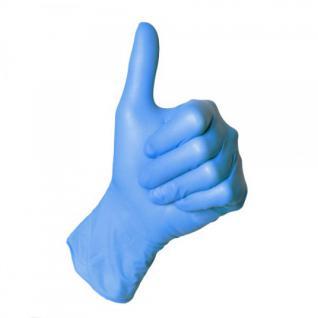 Einweghandschuhe Nitril blau