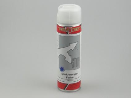 Markierungsfarbe Spray weiß