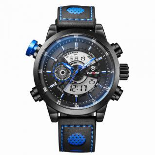 Sport Armbanduhr blau