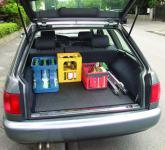 Kofferraummatte Anti Rutsch