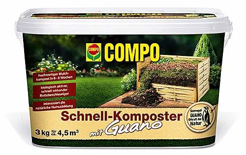 Compo Schnell-Komposter plus Guano 2 kg