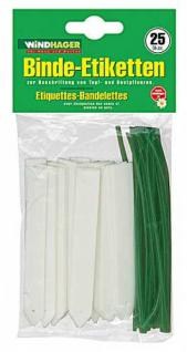 Windhager Binde-Etiketten 25Er Pack