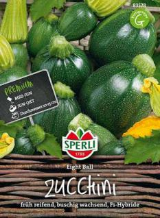 Sperli Zucchini Eight Ball, F1-Hybride