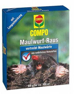 COMPO Maulwurf-Raus 2 x 50 g Portionsbeutel 1