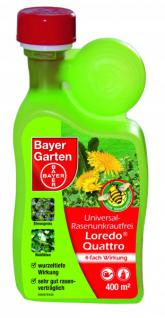 bayer universal rasenunkrautfrei loredo quattro 400 ml kaufen bei stanze gartencenter gmbh. Black Bedroom Furniture Sets. Home Design Ideas