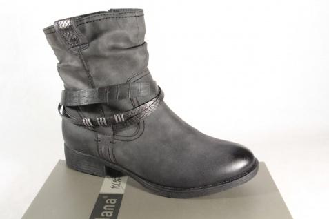 Soft Line by Jana 25461 Stiefelette, Stiefel, Boots grau NEU