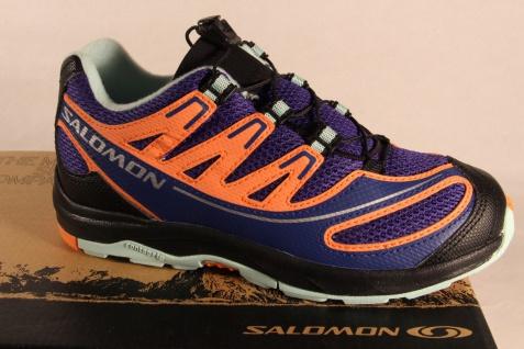 Salomon XA PRO Sportschuhe Schnürschuhe Halbschuhe blau/orange366692 Neu!