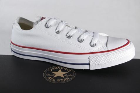 Converse All Star Schnürschuhe Sneakers weiss, Textil/ Leinen, M7652C Neu!!!