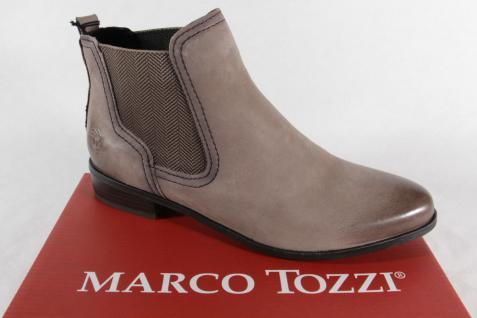 Marco Tozzi Stiefelette, Stiefel, Boots, Schlupfstiefel, pfeffer, NEU