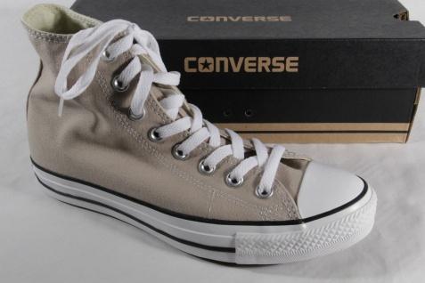 Converse All Star Stiefel Schnürstiefel beige, Textil/ Leinen, 147130C Neu!!!