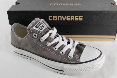 Converse All Star Schnürschuh Sneakers, grau, Textil/ Leinen, Neu!!!