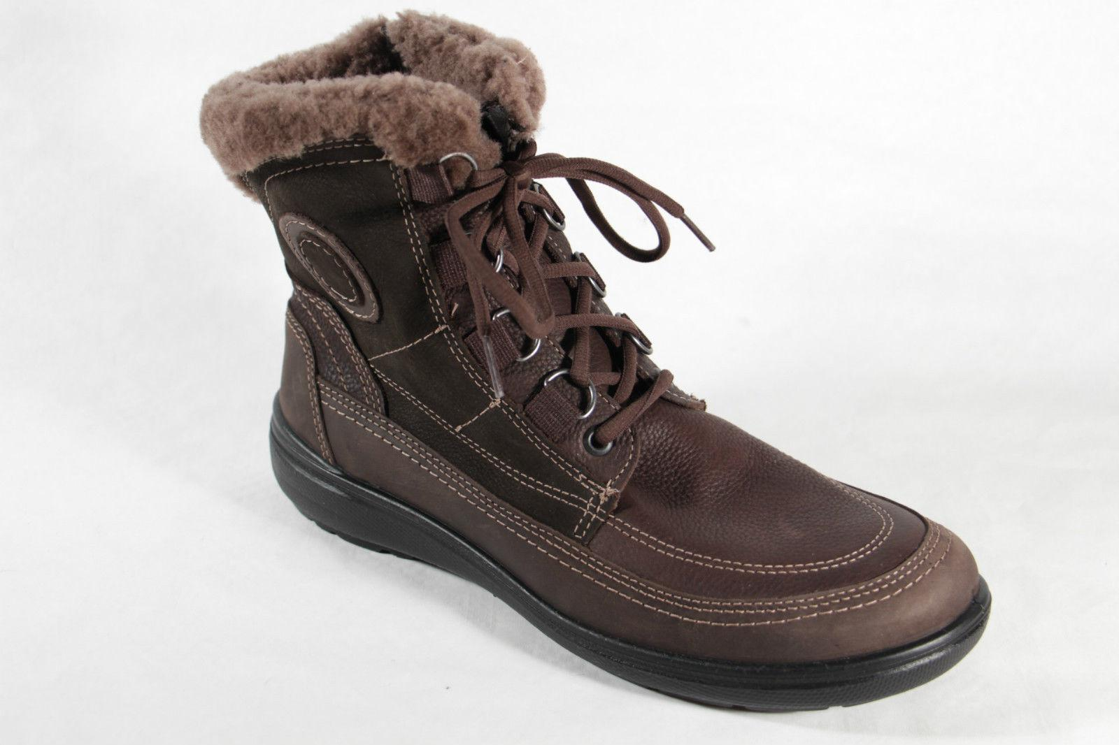 jomos damen stiefel schn rstiefel boots braun mit rv lammfellfutter neu kaufen bei schuh. Black Bedroom Furniture Sets. Home Design Ideas
