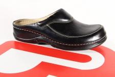Berkemann Damen Clogs 01107 Pantolette Pantoffel Sabot schwarz Leder NEU!