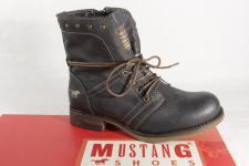 Mustang Mädchen Stiefel, Stiefelette, Boots, Winterstiefel grau 5026 NEU